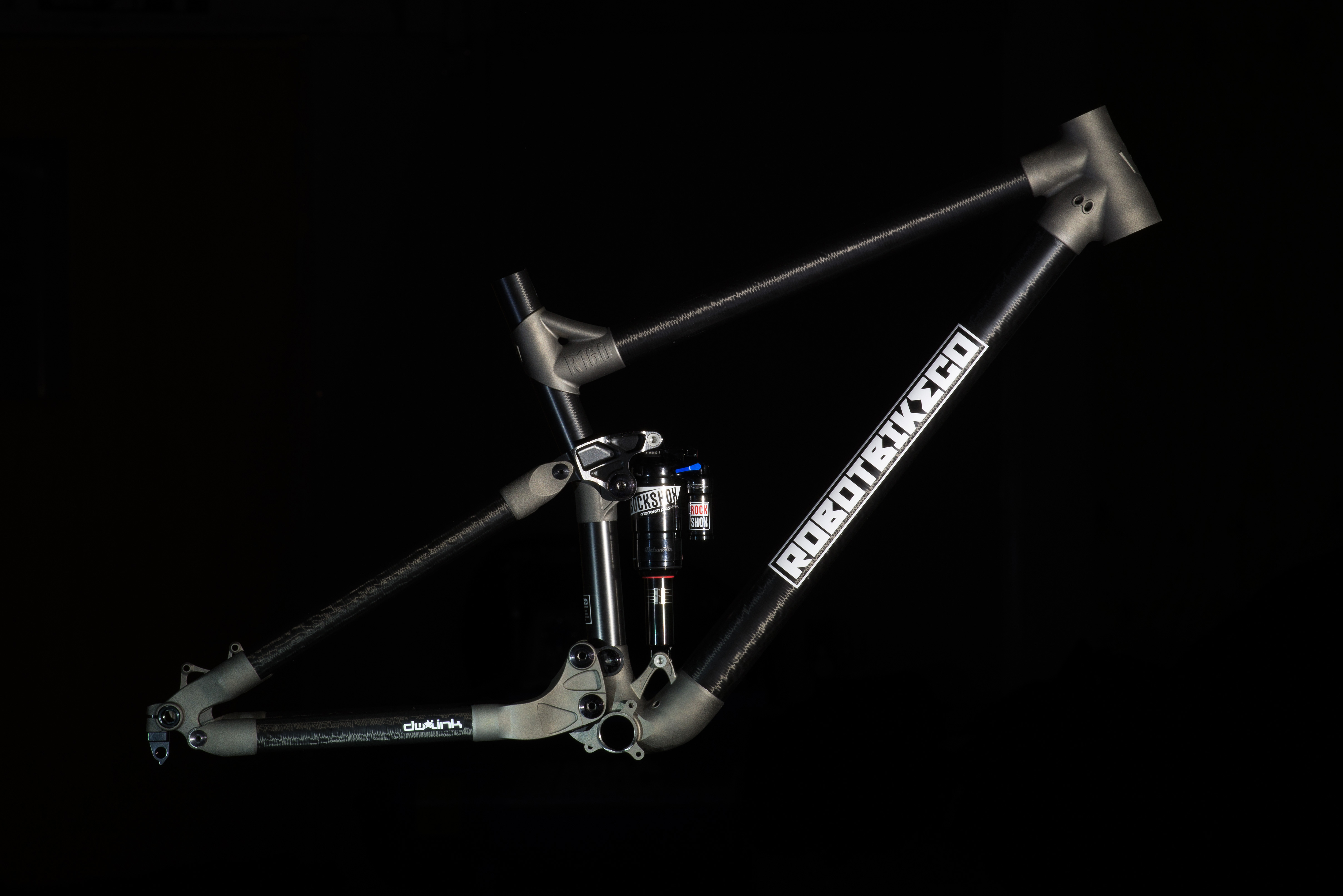 Robot Bike Co. R160 mountain bike frame