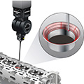 Valve seat measurement with REVO