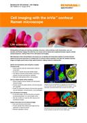 Application note: Cell imaging with the inVia confocal Raman microscope