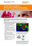 Application note: Surface enhanced Raman spectroscopy (SERS) imaging using the inVia confocal Raman microscope