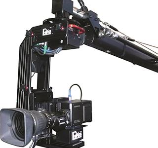 The MK 2 camera jib system from Power Plus provides perfect synchronisation between virtual and physical elements in real-time broadcasting