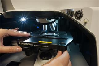 Renishaw high speed encoded stage
