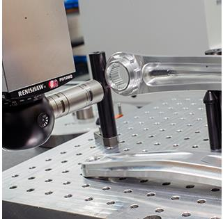 Renishaw PH10/SP25 and modular fixturing contribute to Hope's quality control process